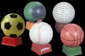 Sports Coin Bank Mold, Sphere